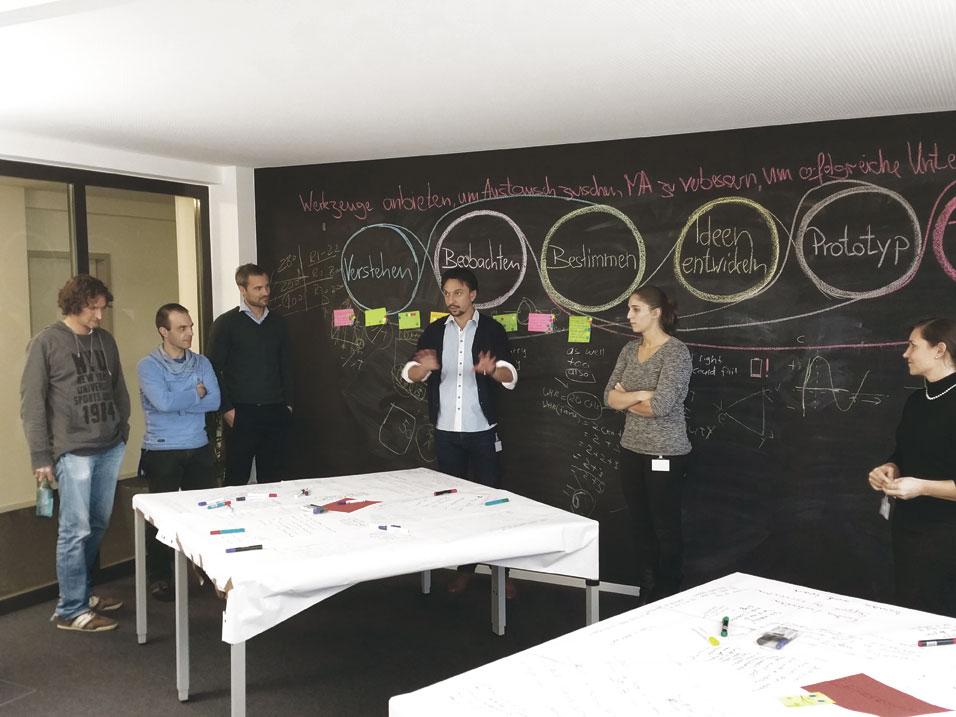 Strategiemeeting bei Haufe-umantis