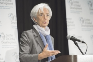 Christine Lagarde, IWF