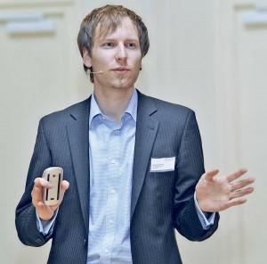 Stephan Preuss, Geschäftsführer der digitalen Unternehmensberatung Handspiel