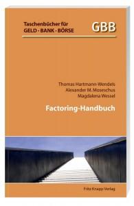 Factoring boomt seit Jahren in einem Umfang wie kaum eine andere Finanzdienstleistung in Deutschland – Factoring-Handbuch, von Thomas Hartmann-Wendels, Alexander M. Moseschus und Magdalena Wessel, 2014. 160 Seiten, broschiert, 17,90 Euro ISBN 978-3-8314-1236-5.