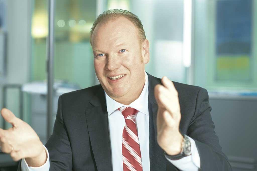 Jörg Vollmer, CEO Swiss Post Solutions, setzt auf Intelligent Automation.