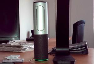 Die ConferenceCam Connect in unseren Büroräumen