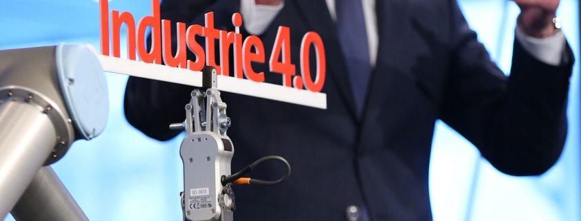 Auftakt-Pressekonferenz der HANNOVER MESSE, 20. April 2016: Dr. Jochen Köckler, Mitglied des Vorstands Deutsche Messe AG, gibt einen Überblick über Themen, Daten und Fakten zur HANNOVER MESSE 2016.