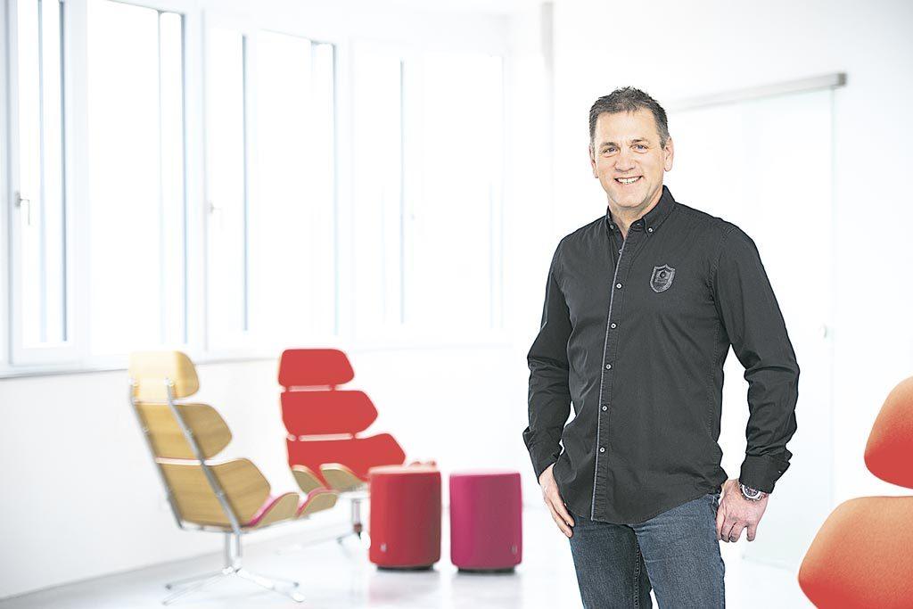 """""""Digitale Modelle von Produkten und Services sind Ausgangspunkt und Treiber neuer Businessmodelle"""", so Jörg Walden."""