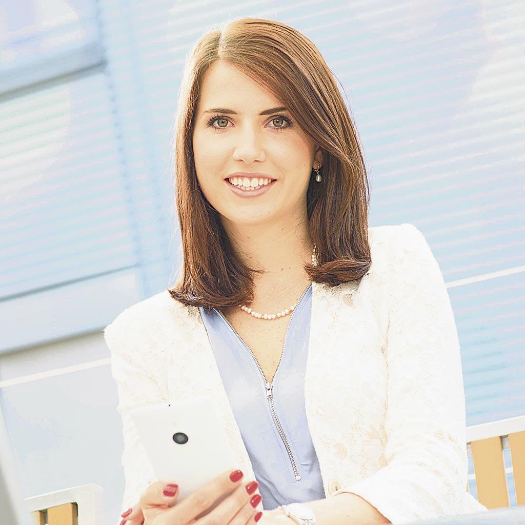 """Marina Treude: """"Wir haben bei Microsoft die Vertrauensarbeitszeit für alle Mitarbeiter verbindlich geregelt."""""""