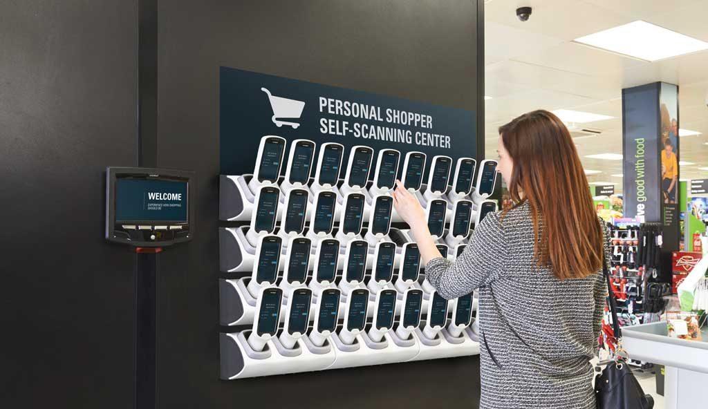 """So könnte es bald in mehreren Geschäften aussehen: am Eingang der """"Personal Shopper"""""""