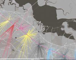An welchen Stationen steigen die meisten Pendler aus und ein und woher kommen sie? Diese Storymap beantwortet die Frage auf einen Blick.