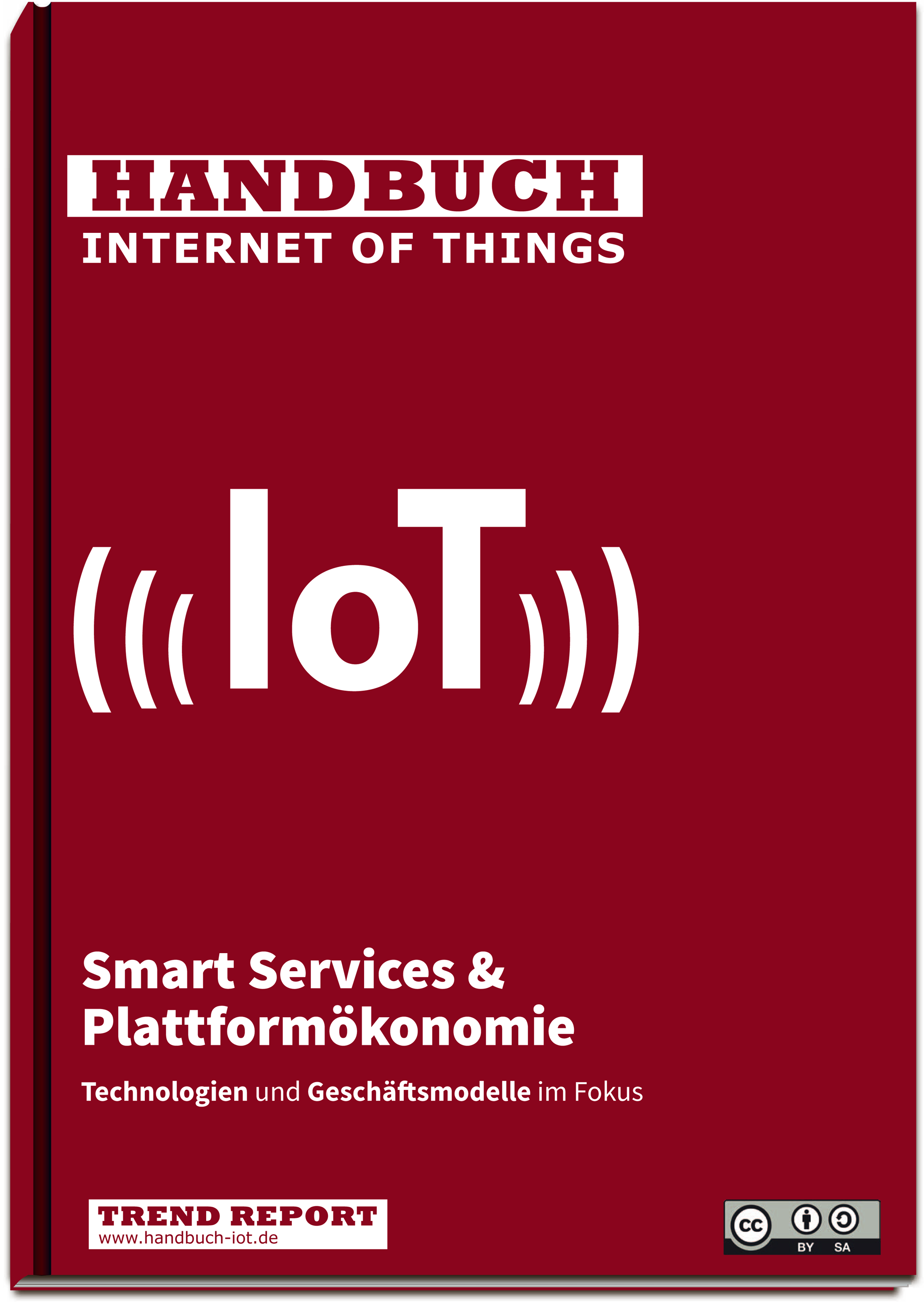 Cover Handbuch Internet of Things