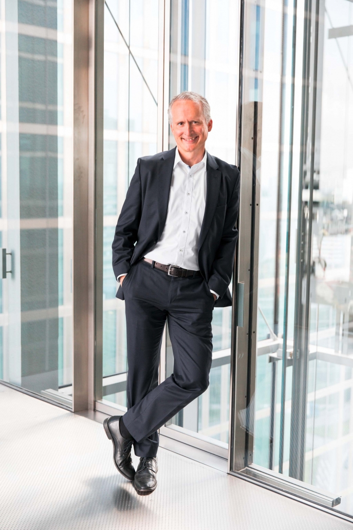 Christian Leutner, Vice President and Head of Product Sales bei Fujitsu